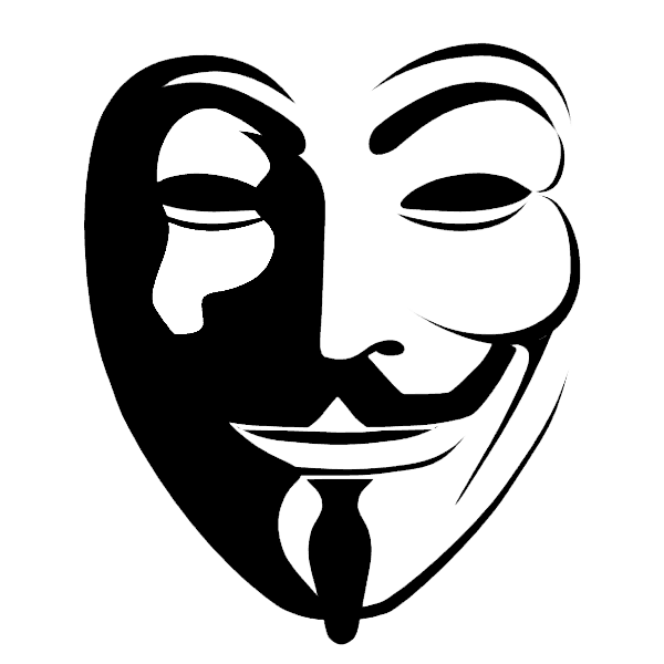Hacker mask png - Anonymous face mask png download - [FREE]   Anonymous Hackers Mask Png