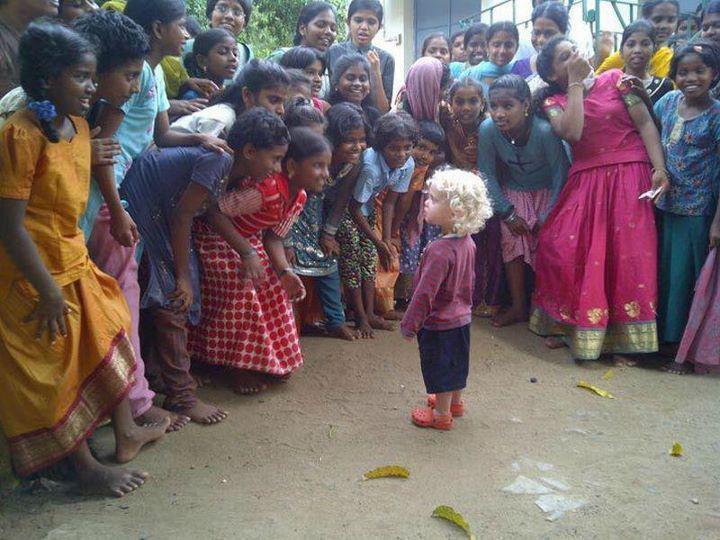 Blond child wonder
