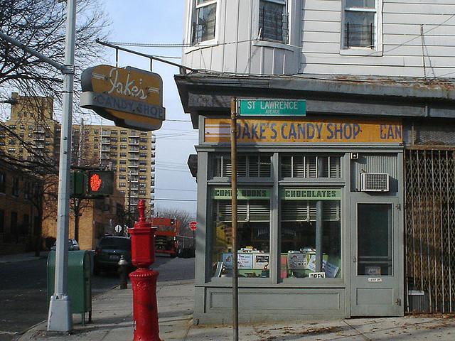 Bronx corner Candy Store circa 1964