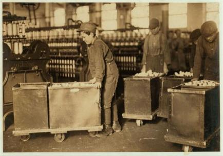 Child labor in North Carolina textile mills 04
