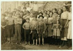 Child labor in North Carolina textile mills 10
