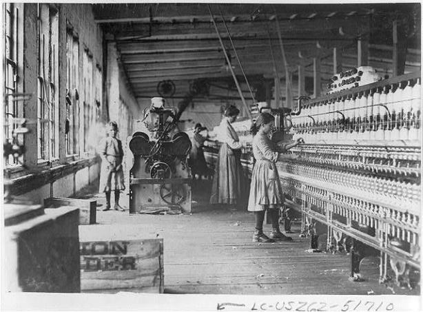 Child labor in North Carolina textile mills 11