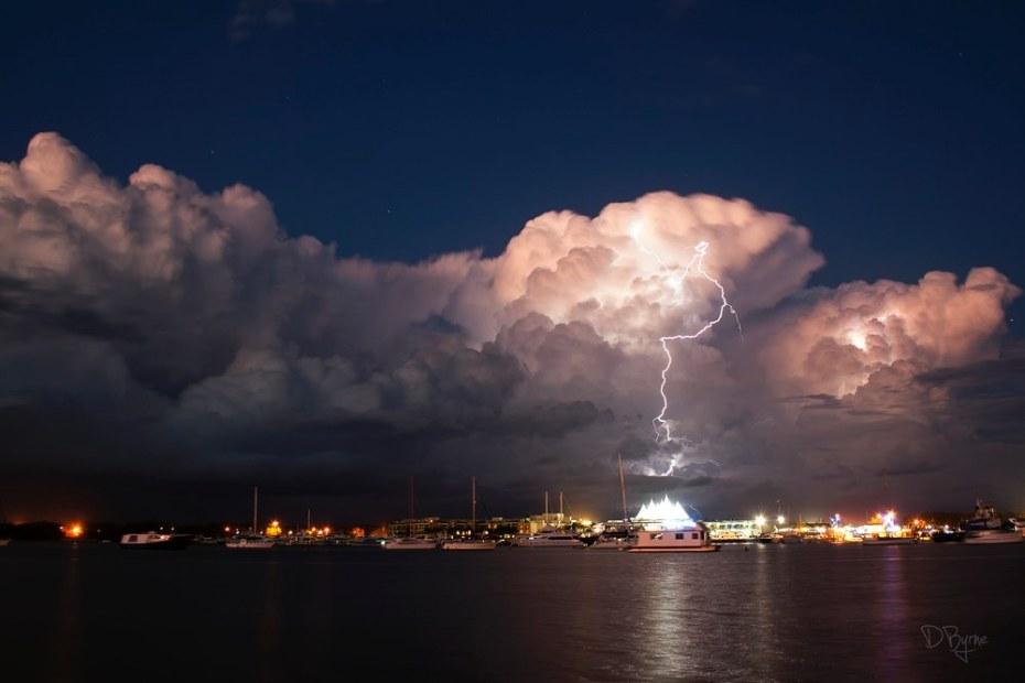 Derek Byrne DigitalRev lightning storm
