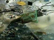 Floating ocean garbage. Photo credit: unknown