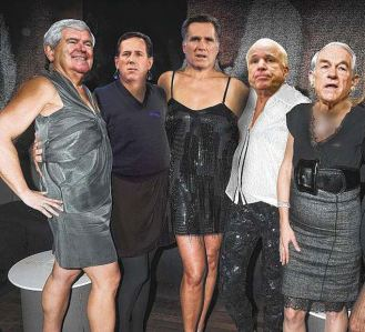 Hump Day funny photo Republican candidates photoshopped in drag