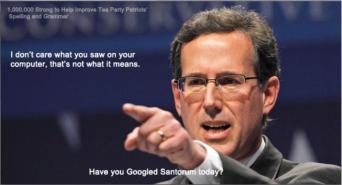 Hump Day humor have you googled Santorum lately