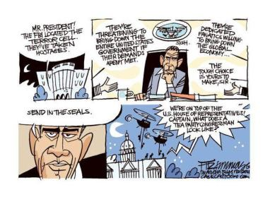 Hump Day Political cartoon take over of America by congress