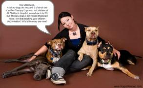 Letter sent to BADRAP in protest to McDonald's commercial mentioning stray pit bulls 16