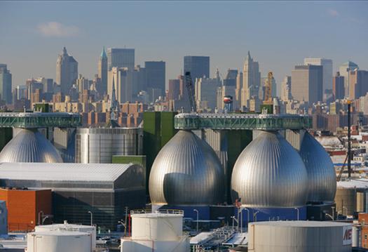 Newtown Creek Wastewater Treatment Plant, Brooklyn, New York, Polshek Partnership Architects