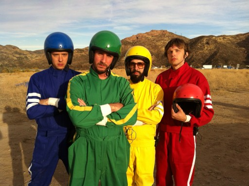 OK Go needing getting video in desert photo