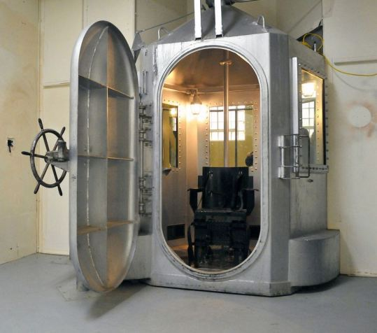 Old Main Prison Santa Fe NM Gas Chamber