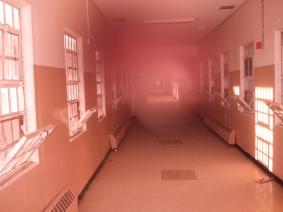 Orb in photo Old Main Prison Santa Fe NM