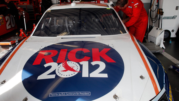 Santorum Daytona 500 sponsored car number 26