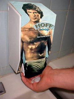 Tgif Funny Photo Hoff Soap Dispenser