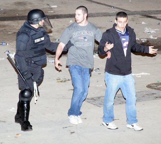 UMass riot photo 05