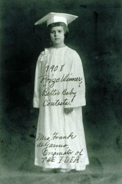 1908 Prize Winner, Better Baby Contests Mrs Frank deGarmo, Originator of THE IDEA Louisiana State Fair, Shreveport