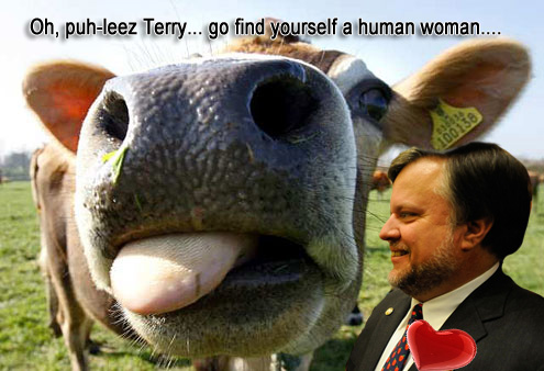 George state Rep Terry England in love with a cow