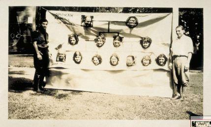 Homokak Family A Nut Study, pedigree parody by Eugenics Record Office Field Worker Training Class of 1923