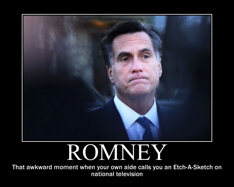 Mitt Romney and Etch-A-Sketch Commercial, Tweets and Memes (5/6)