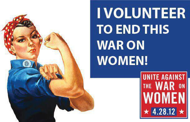I volunteer to end this war on women