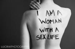 War on Women body message 25 I am a woman with a sex life