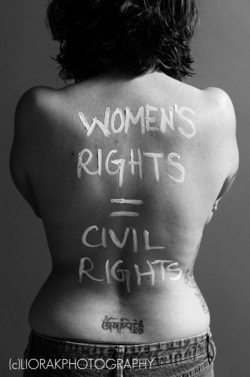 War on Women body message 51 women's rights equal civil rights