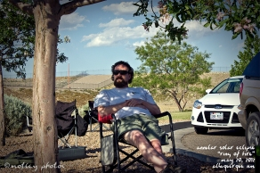 Annular Solar Eclipse_Ring of Fire_05 20 2012_ABQ NM_Dave chillin in the shade