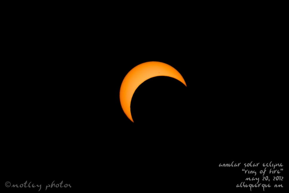Photos from Annular Solar Eclipse, May 20 2012, Albuquerque NM (6/6)