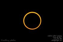 Annular Solar Eclipse_Ring of Fire_05 20 2012_ABQ NM_Total annular solar eclipse dead center 01