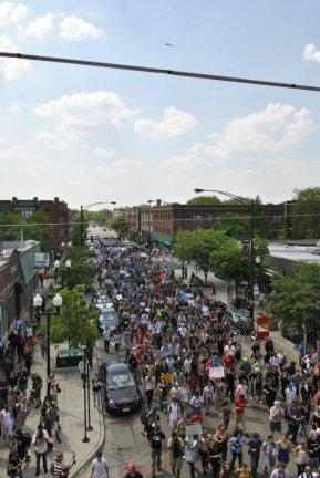 NATO Protest Chicago Protestors 02