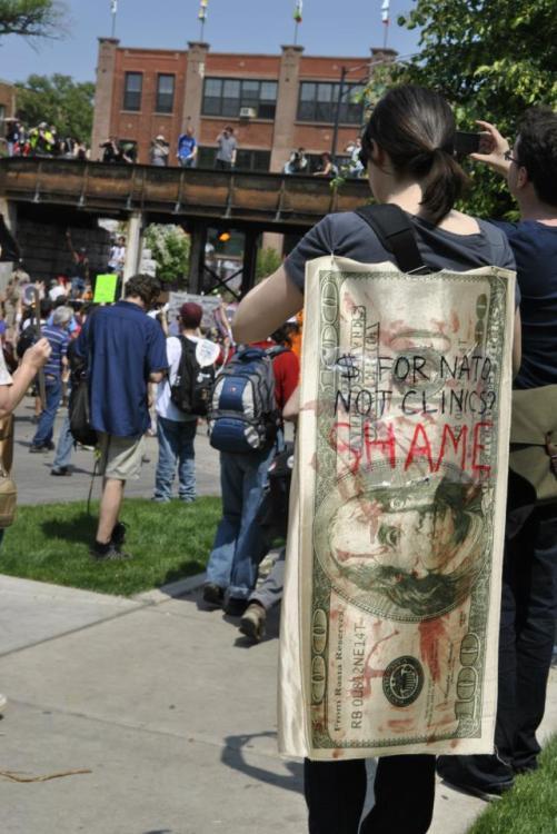 NATO Protest Chicago Protestors 03