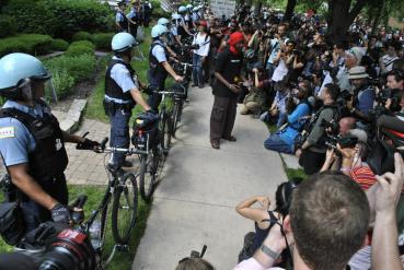 NATO Protest Chicago Protestors 04