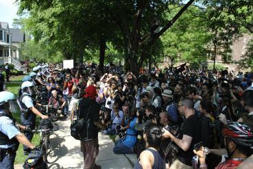 NATO Protest Chicago Protestors 05