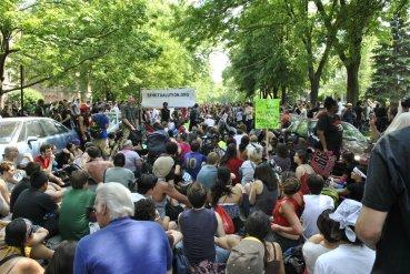 NATO Protest Chicago Protestors 06