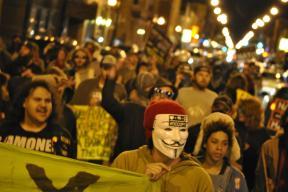 NATO Protest Chicago Protestors 09