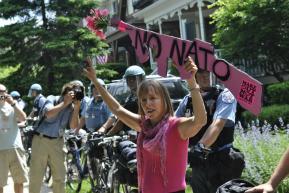 NATO Protest Chicago Protestors 13