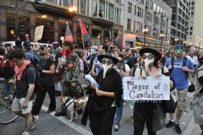 NATO Protest Chicago Protestors 20