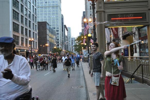 NATO Protest Chicago Protestors 21
