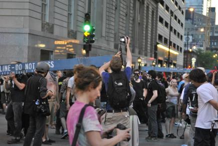 NATO Protest Chicago Protestors 22