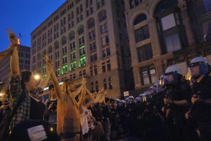 NATO Protest Chicago Protestors 23