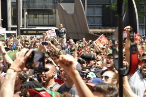 NATO Protest Chicago Protestors 27