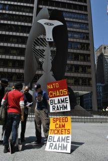 NATO Protest Chicago Protestors 30