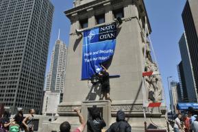 NATO Protest Chicago Protestors 31