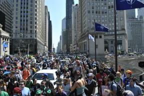 NATO Protest Chicago Protestors 32