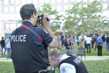NATO Protest Chicago Protestors 35