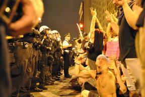 NATO Protest Chicago Protestors 42