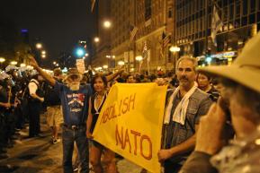 NATO Protest Chicago Protestors 43