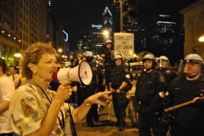 NATO Protest Chicago Protestors 44