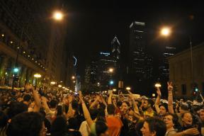NATO Protest Chicago Protestors 46