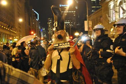 NATO Protest Chicago Protestors 50
